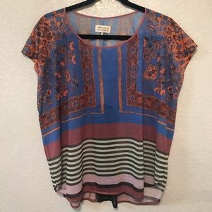 Anthropologie Dream Daily Blouse Size S